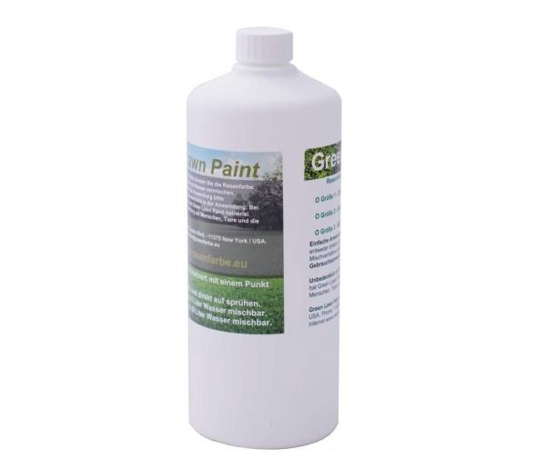 1 Liter UltraHigh Rasenfarbe in Vorrat mischbar mit 28 Liter Wasser