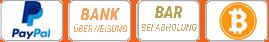 Rasenfarbe Zahlungsarten PayPal, Überweisung, Bar und Bitcoin oder auch Bitcoins genannt.